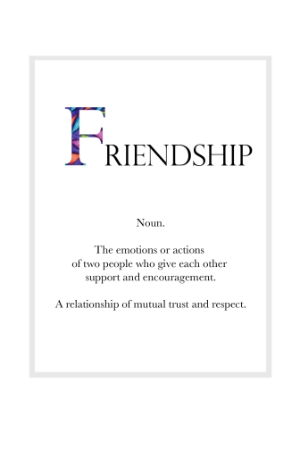 FRIENDSHIP Definition Page