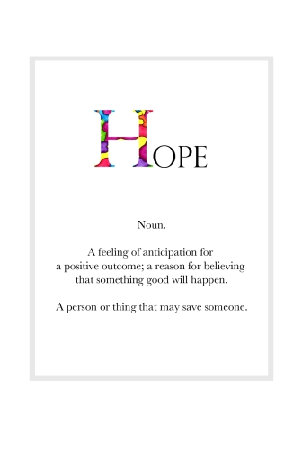 HOPE Definition Page