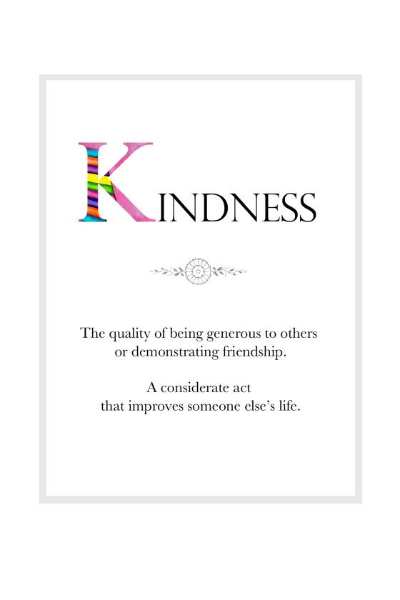 KINDNESS Definition Page