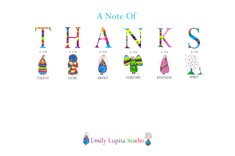 Thanks Inside Postcard