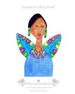 6 Juanita in a Blue Dress_Gallery Photo