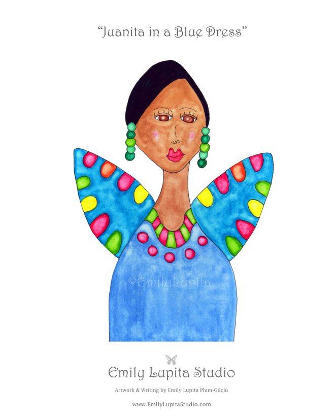 8 Juanita in a Blue Dress_Gallery Photo