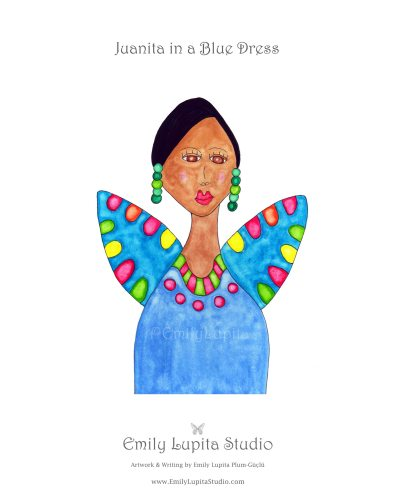 Juanita in a Blue Dress_Gallery Photo
