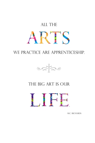 All the Arts We Practice