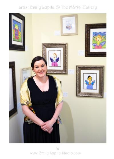 Emily Lupita Studio at The Marietta Square Artist's Attic Gallery