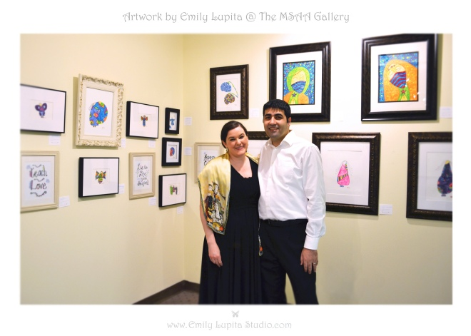 Emily Lupita Studio at The Marietta Square Artist's Attic Gallery