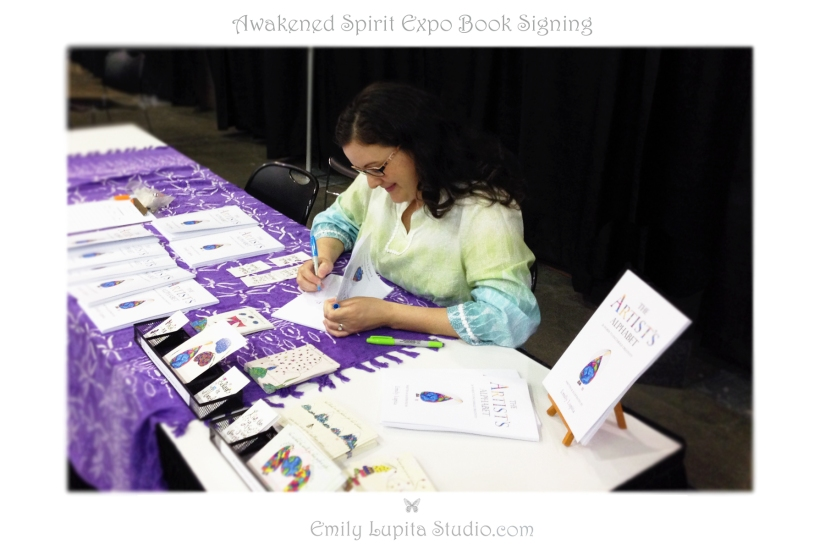 Book Signing at Awakened Spirit Expo May 31 2014