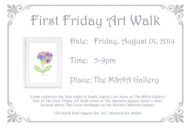 EVENTS First Friday AUGUST