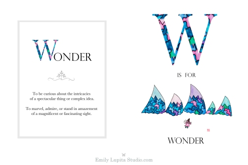 W is for Wonder