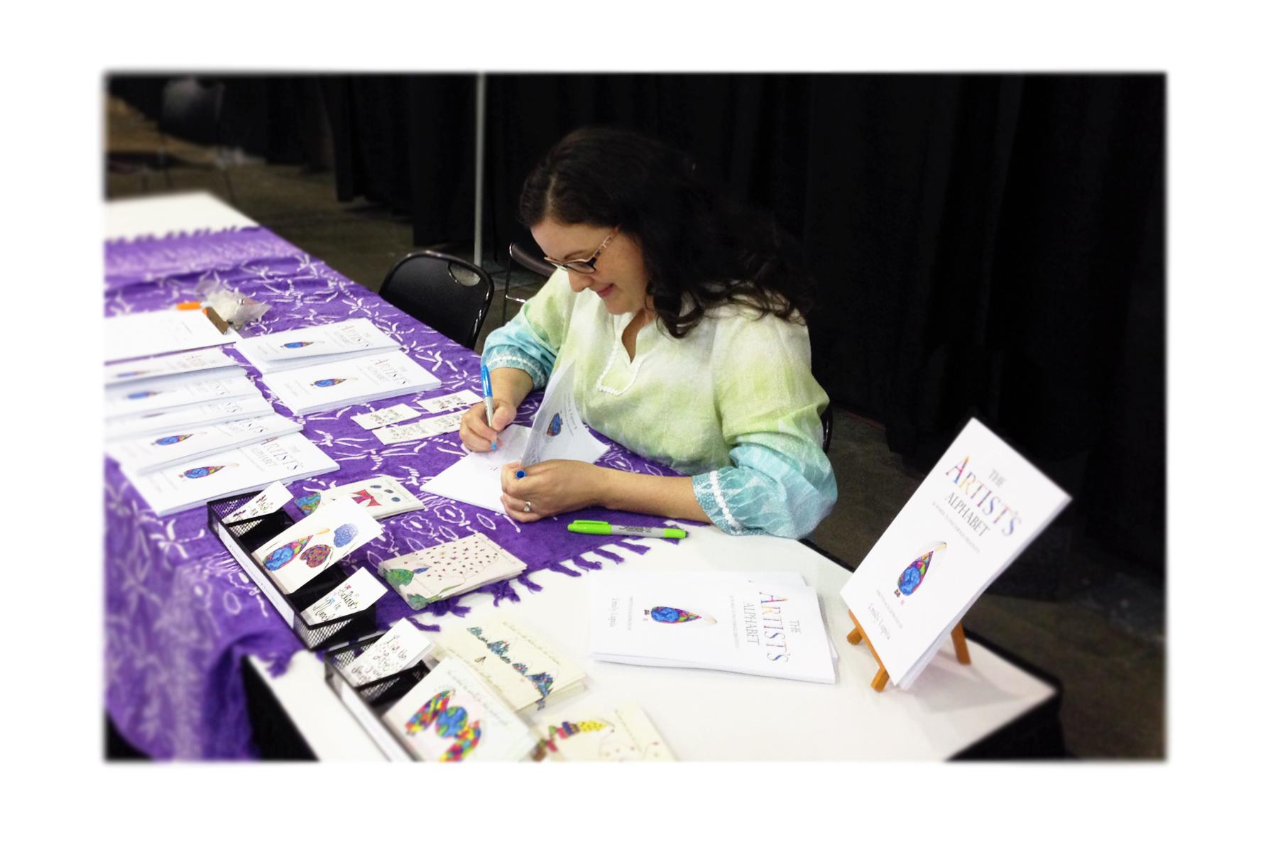 Book Signing at Awakened Spirit Expo May 31 2014
