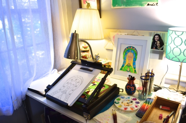 My Painting Desk