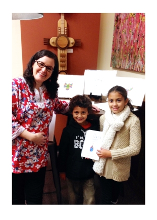 Artist Emily Lupita Book Signing MSAA Gallery Marietta Square local artist art book The Artist's Alphabet