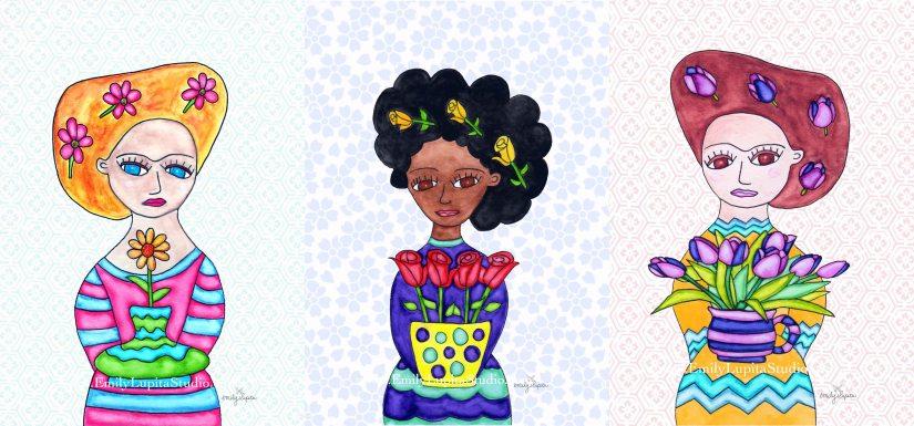 3 Flower Sisters
