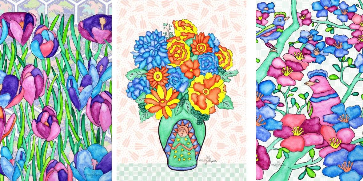 Year of Flowers Slide 1