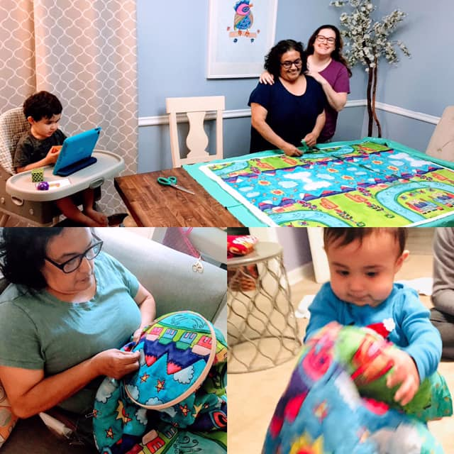 Mom and Emily Lupita's Quilt